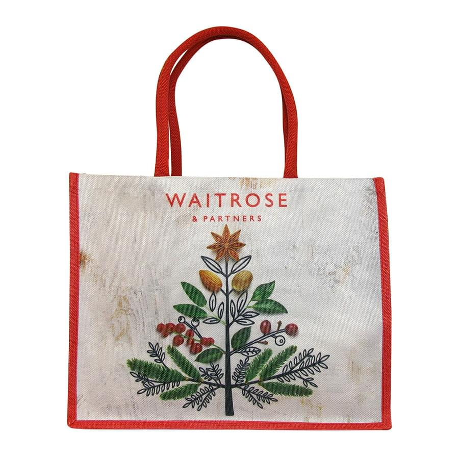 Supermarkets - Waitrose and Partners and Emma Bridgewater shopping bag collection